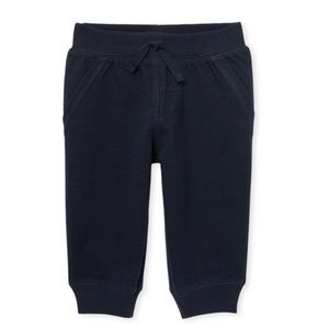 NWT Place Boys Dark Blue Jogger Pants 18-24mo